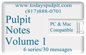 Pulpit Notes Vol 1